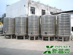 新普克立式不锈钢承压保温水箱