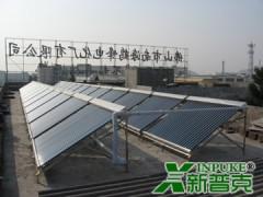 新普克湖南太阳能热水工程联箱