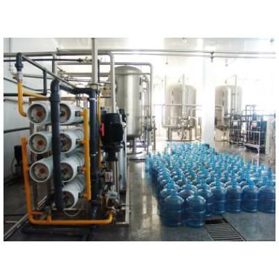 天津桶装水厂矿泉水食品饮料用纯水处理制取设备