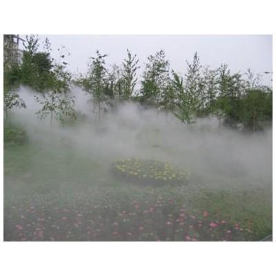 重庆人造雾景观造景设备/喷雾降温/水雾造景-重庆维驹环保