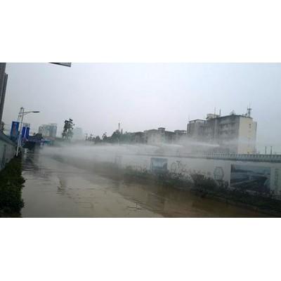 重庆人造雾景点喷雾降温水雾环保造景园林景观造雾重庆维驹环保