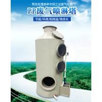 喷淋塔uv光氧废气处理设备除尘设备风机风管一站式购齐