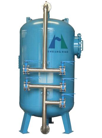 机械过滤器石英砂活性炭过滤器污水处理