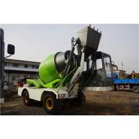 厂家直销4方混凝土搅拌车  0.8方装载机式混凝土搅拌车