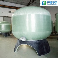 带卸料口玻璃钢水处理罐4872