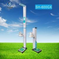 供应上禾科技SH-600GX折叠超声波身高体重测量仪,血压计