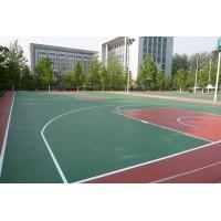 广东邦禾体育硅pu篮球场 学校运动场材料厂家