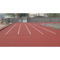 广东邦禾体育混合型塑胶跑道 学校运动场材料