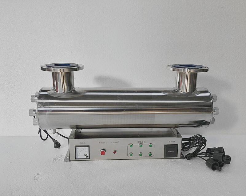 厂家供应紫外线消毒器管道式消毒设备中水回用