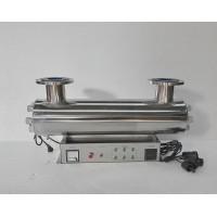 厂家供应UVC管道式紫外线消毒器处理水量0-600T