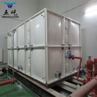 玻璃钢消防水箱,环保方形玻璃钢水箱,五屹食品级玻璃钢水箱厂家