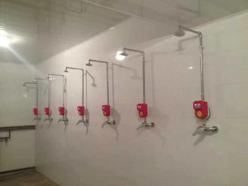青海宾馆洗澡刷卡收费机,酒店淋浴刷卡消费器,健身房洗澡计时器