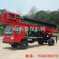 供应鲁探双排座防汛打桩机小型桩工长螺旋钻机工程地基打桩机