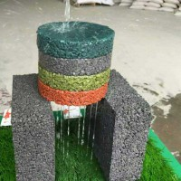 安徽合肥厂家供应透水地坪材料、透水混凝土材料、民宿墙面材料