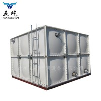 消防组合式水箱,组合式SMC水箱,五屹人防保温水箱