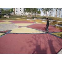 彩色沥青改色路面、透水混凝土路面施工