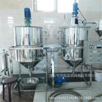 棕榈油精炼机 植物油精炼设备厂家 全套浓香型菜籽油精炼机组