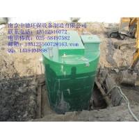 厂家直销YTHBZ一体化预制泵站,玻璃钢桶体配泵格栅管阀电控