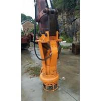 挖机安装抽浆泵,泥浆泵