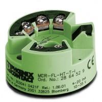 热电阻测量变送器MINI MCR-SL-PT100-UI-N