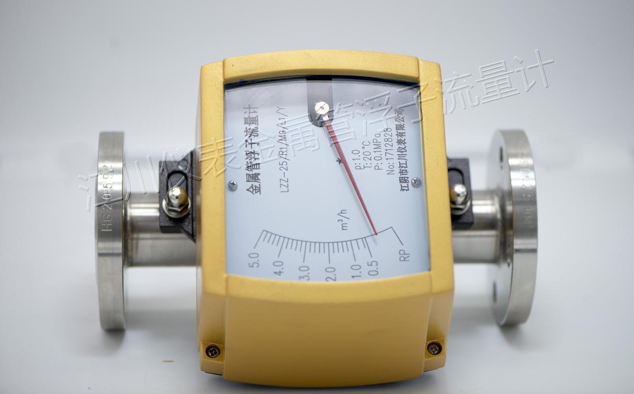 江苏天川专业生产金属管浮子流量计,金转流量计