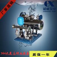 无负压成套供水设备/高层变频水设备/304不锈钢供水机组