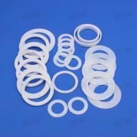 大量定制塑料王密封制品纯四氟耐磨环四氟制品