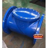 H44X橡胶瓣止回阀 给排水阀门-图片原理知识