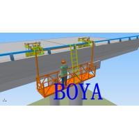 桥梁侧面作业平台