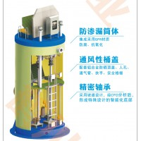 一体化泵站 玻璃钢地埋式一体化提升泵站