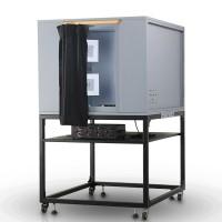 VC-118-S标准光源灯箱摄像头测试