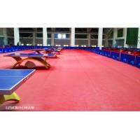 常州乒乓球羽毛球场pvc塑胶地板完美地板防滑绿质厂家直销
