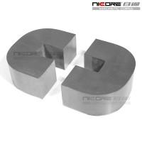 广东南海矽钢c型磁芯  尺寸精准公差小矽钢片铁芯 来图定制