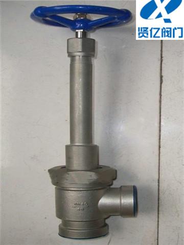 KDJ64F-40P低温角式截止阀