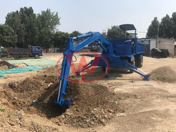 农用拉沙子随车挖挖臂可定制随车挖大臂可加长