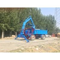 小型随车挖厂家四驱运输挖掘机