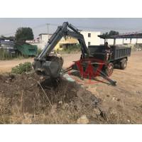 微型挖掘机随车挖随车挖矿石车