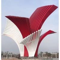 海南城市不锈钢大型建筑雕塑景观 抽象金属艺术雕塑造价