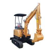 地下室挖土机 农田果园小勾机 小型履带式挖坑机
