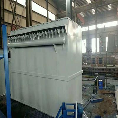 中频电炉除尘器安装图 布袋除尘器