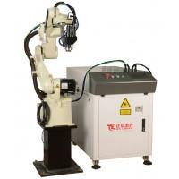 深圳2000w连续光纤五金用工业机器人激光焊接机