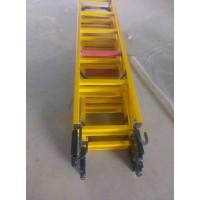 安全防护平台直爬梯 电工绝缘伸缩梯   人字梯