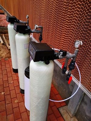 供应四通镇锅炉厂2吨软化水设备 全自动软水器厂家