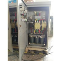 45kW水泵自耦减压起动箱 160千瓦破碎机控制柜