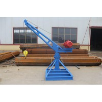 订制3吨电动吊机批发-单臂旋转建筑小吊机-东弘起重
