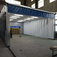移动伸缩喷漆房设计安装 整套流程方案