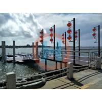 钢结构浮码头浮桥水上建筑景观交通浮桥码头游艇浮码头可加工定制
