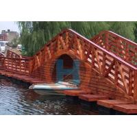 水上栈道海边栈桥浮桥 栈桥建筑水上通行栈道 水上景观浮桥批发