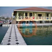 2020年塑料浮筒浮筒码头垂钓平台摩托艇码头批发生产