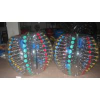 广州游乐设备公司充气碰碰球雪地滚球太空球悠波球水上步行球滚筒